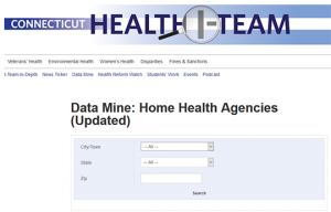 Data Mine Home Health Agencies