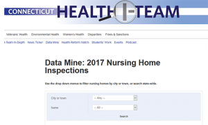 Data Mine: Nursing Home Inspections