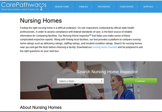 CarePathways Nursing Home Inspector Tool