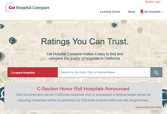 CalHospital Compare Report Card