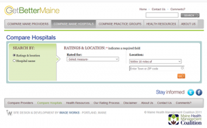 Get Better Maine - Compare Hospitals Report Card