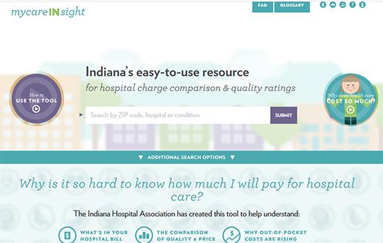 IHA MyCareInsight Hospital report card
