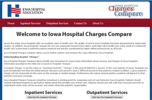 Iowa Hospital Charges Report Card