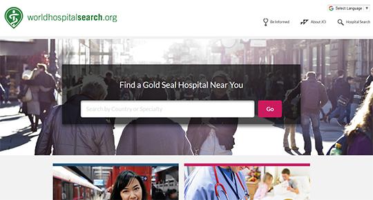 Joint Commisson International - World Hospital Search