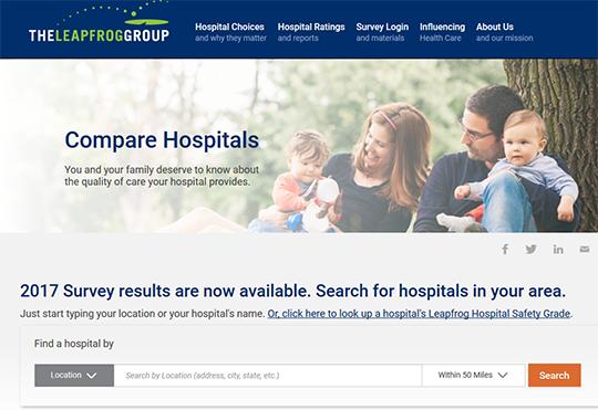 Leapfrog Compare Hospitals