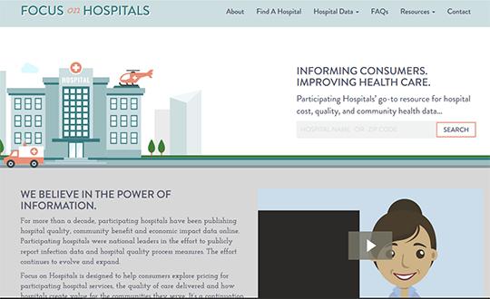 Missouri Hospital Association Focus on Hospitals Report Card