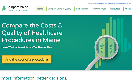 Compare Maine Hospital Report Card