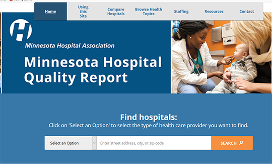 Minnesota Hospital Quality Report