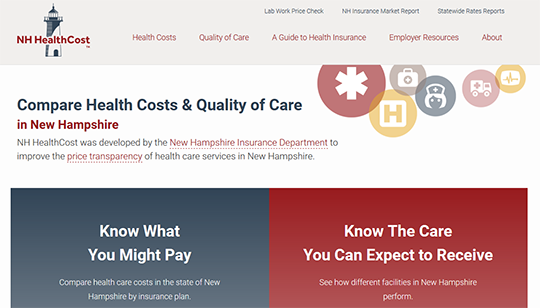Compare Health Costs & Quality of Care in New Hampshire