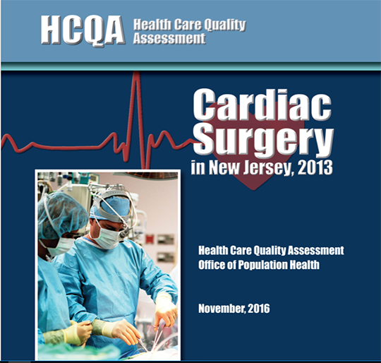 Report on cardiac surgery in new jersey