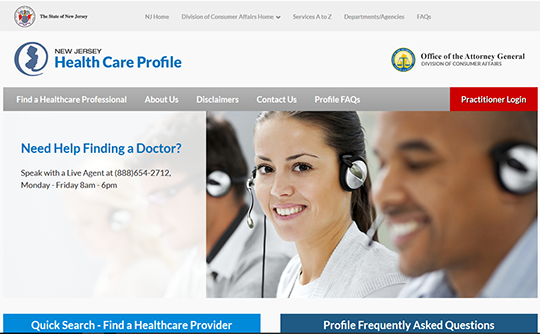 New Jersey Health Care Profile