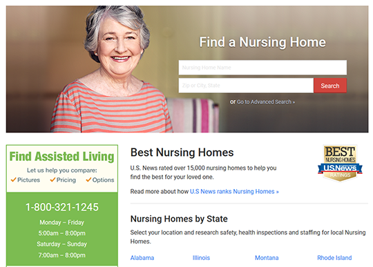 U.S. News Best Nursing Homes