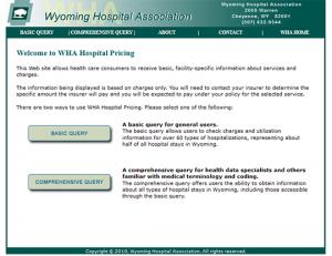 WHA Hospital Pricing