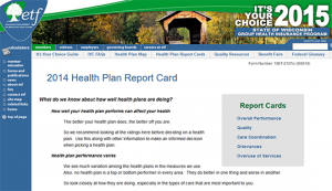 Wisconsin Health Plan Report Card