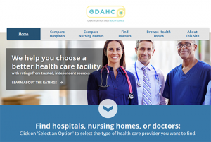 Greater Detroit Area Health Council Compare hospitals nursing homes doctors report cards