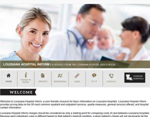 Louisiana Hospital Inform Report card