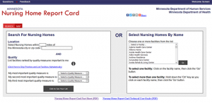 MN Nursing Home Report Card