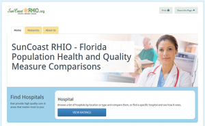 SunCoast RHIO - Florida Population Health and Quality Measure Comparisons