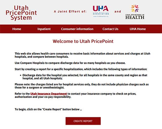 Utah Hospital PricePoint