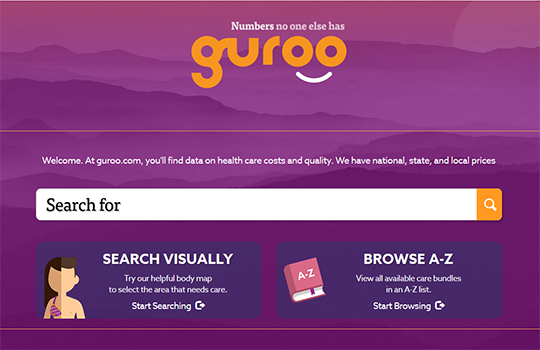 guroo healthcare cost and quality nationally