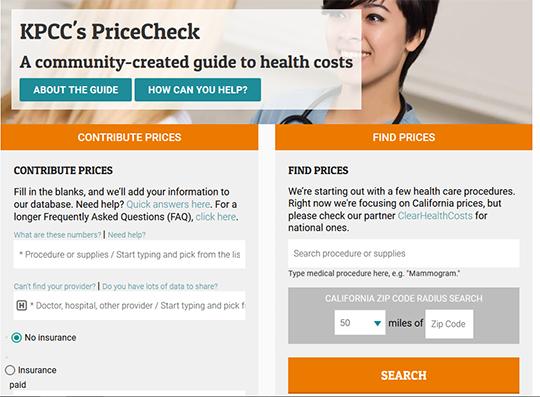KPCC Price check