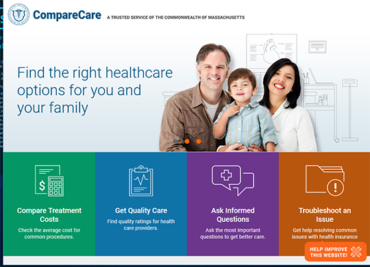 Massachusetts Compare Care