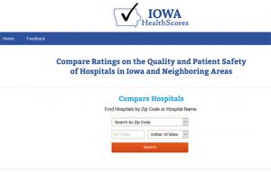 Iowa Health Scores