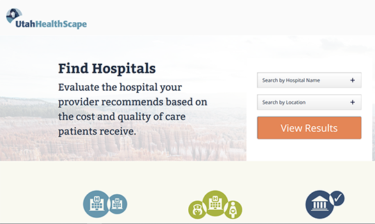 UT HealthScape hospital report card