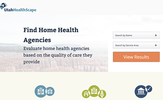UT HealthScape Home Health Agencies Report Card