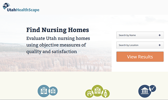 UT HealthScape Nursing Homes Report Card