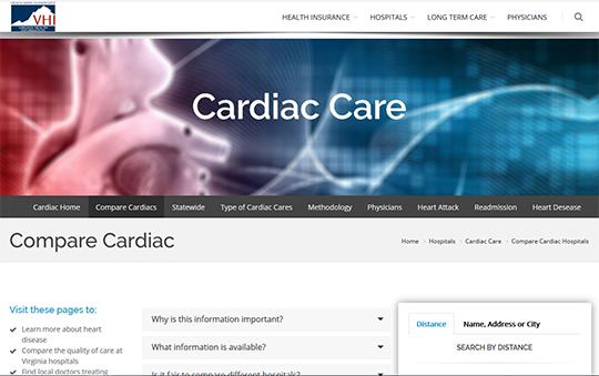 VHI Compare Cardiac Care