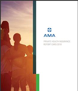 AMA Private Health Insurance Report Card