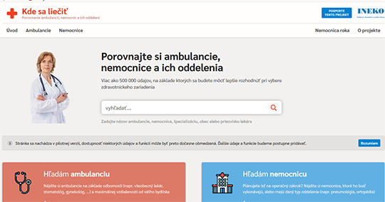 Kde sa liečiť Compare Ambulances, Hospitals and their departments