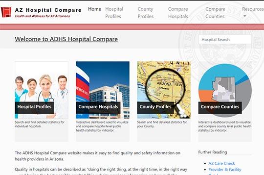 AZ hospital compare