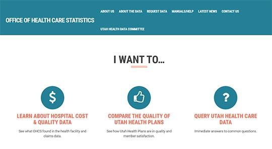 Utah Healthcare Facility Database