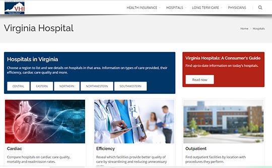 VHI Hospitals in Virginia